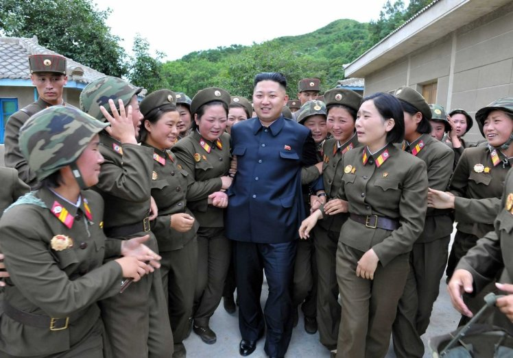 kim_jong_un_with_girls_by_shitalloverhumanity-d5d8ny5