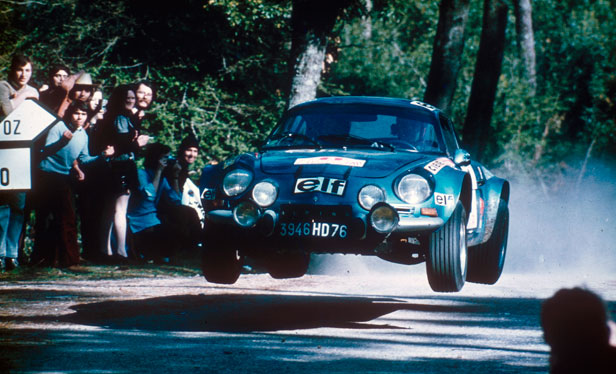Alpine Renault a110 Rally de Portugal 1973